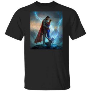 Thor love Captain Marvel Avengers Endgame T-Shirt