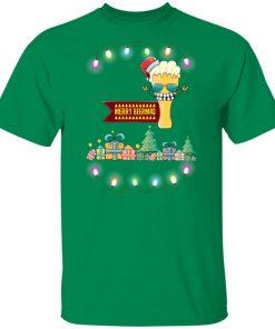 Merry beermas Christmas Funny shirt