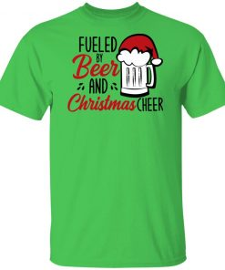 Fueled By Beer And Christmas Cheer Funny