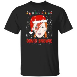 David Snowie Funny Christmas shirt