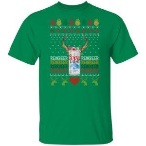 Coors Light Reinbeer Ugly Christmas shirt