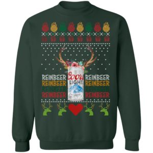 Coors Light Reinbeer Ugly Christmas sweater