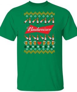 Budweiser Beer Funny ugly Christmas shirt