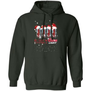 All I Want for Christmas Is Coors Light hoodie