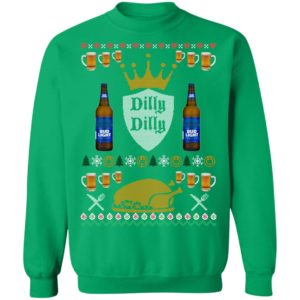 Bud Light- Dilly Dilly Christmas sweater