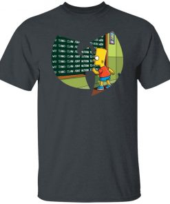 BART SIMPSON WU TANG CLAN AINT NUTHIN TO FUCK WITH SHIRT