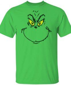 Dr. Seuss Men's Grinch Face Ugly Christmas