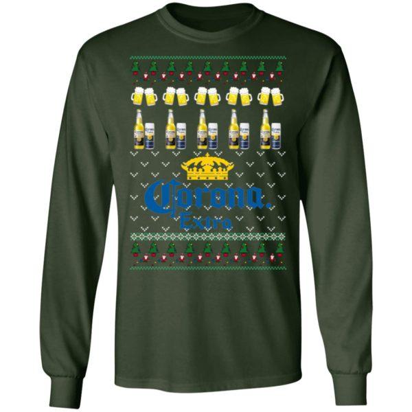 Corona Extra Beer Ugly Christmas ls