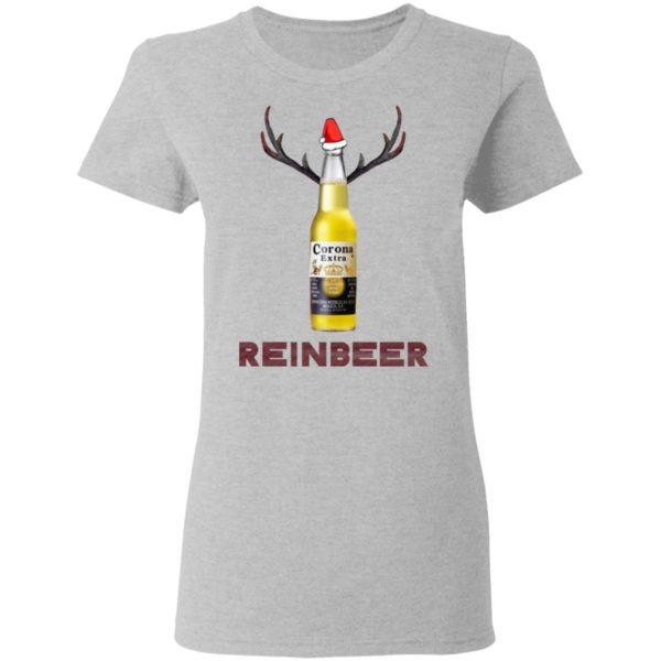 Corona Extra Beer Reinbeer Funny Christmas shirt