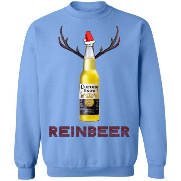 Corona Extra Beer Reinbeer Funny Christmas sweater