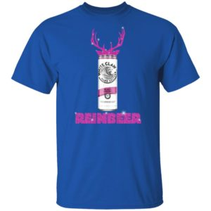 WHITE CLAW BLACK CHERRY HARD SELTZER SPARKLING REINBEER CHRISTMAS SHIRT