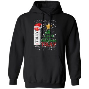 Wild Berry All I Want For Christmas is Truly Hard Seltzer hoodie