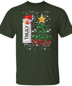 Raspberry Lime All I Want For Christmas is Truly Hard Seltzer shirt