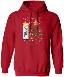 Pineapple All I Want For Christmas is Truly Hard Seltzer hoodie