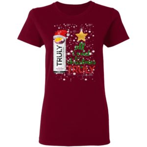 Passion Fruit All I Want For Christmas is Truly Hard Seltzer shirt
