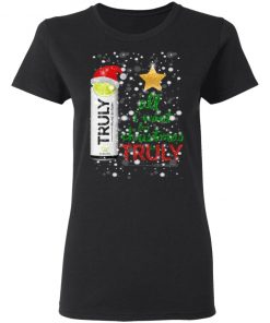 Lime All I Want For Christmas is Truly Hard Seltzer tshirt