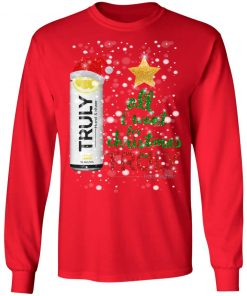 Lemon All I Want For Christmas is Truly Hard Seltzer ls