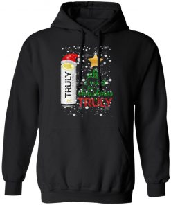 Lemon All I Want For Christmas is Truly Hard Seltzer hoodie