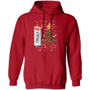 Grapefruit All I Want For Christmas is Truly Hard Seltzer hoodie