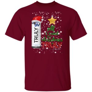Blueberry and Acai All I Want For Christmas is Truly Hard Seltzer Shirt