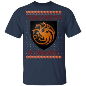 House Targaryen Game of thrones Christmas Santa Is Coming shirt
