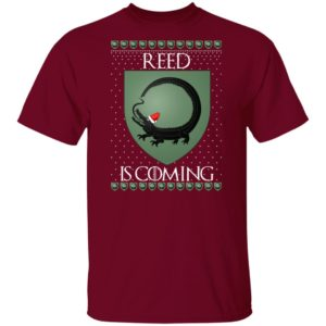 House Reed Game of thrones Christmas Santa Is Coming shirt