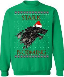 House Logos Stark Game of thrones Christmas Santa Is Coming Sweatshirt