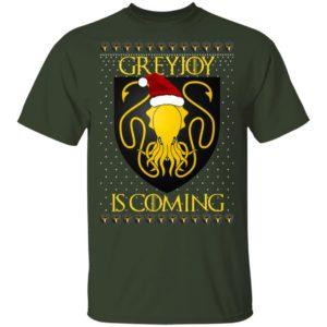 House Greyjoy Game of thrones Christmas Santa Is Coming shirt