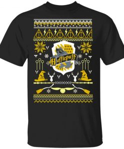 Harry Potter Hufflepuff Ugly Christmas shirt