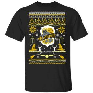 Harry Potter Hufflepuff Ugly Christmas shirt