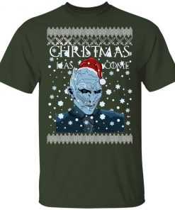 Game of Thrones Christmas Has Come White Walker Ugly shirt