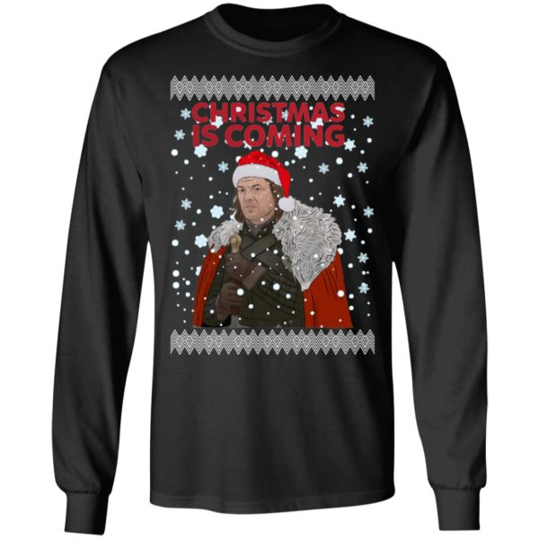 Christmas Is Coming Ned Stark Game Of Thrones Ugly