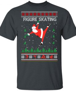Figure Skating Ugly Christmas shirt