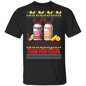 Natural Light Seltzer Catalina Lime Mixer Aloha Beaches Reinbeer Funny Christmas Ugly shirt