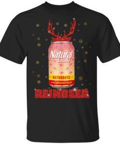 Natural Light Beer Strawberry Lemonade Naturdays Christmas Funny shirt