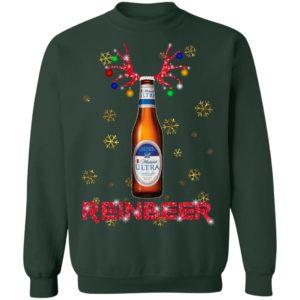 Michelob Ultra Reinbeer Christmas Funny Sweatshirt