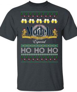 Cerveza Modelo Especial Beer Ho Ho Ho Christmas Funny Ugly shirt