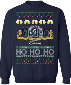 Cerveza Modelo Especial Beer Ho Ho Ho Christmas Funny Ugly Sweatshirt