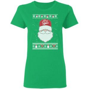 Baseball Team Santa Ugly Christmas shirt