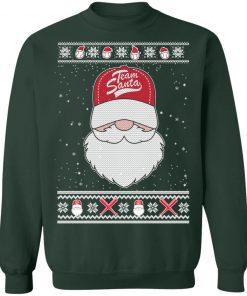 Baseball Team Santa Ugly Christmas Sweatshirt