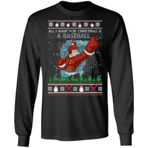 All I Want For Christmas Is A Baseball Ugly Christmas