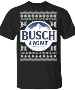 Busch Light Beer Christmas Ugly