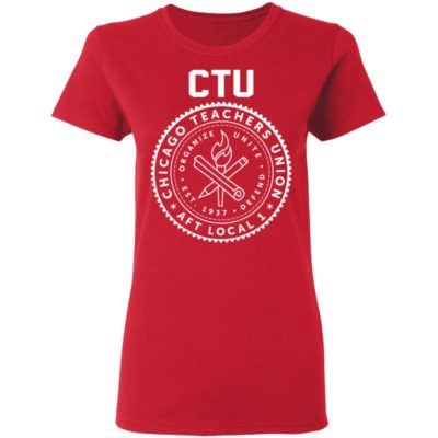 CTU Chance The Rapper Chicago Teachers Union Shirt