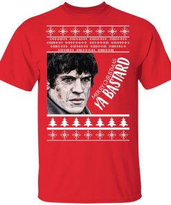 Game of Thrones Christmas Ramsay Bolton Merry Christmas Ya Bastard Ugly shirt