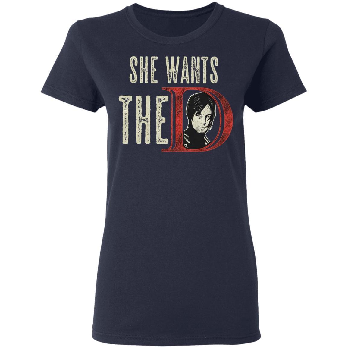 Ladies Printed T-Shirt This Girl Loves Daryl Dixon