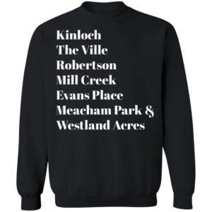 Kinloch The Ville Robertson Mill Creek Evans Place Meacham Park & Westland Acres