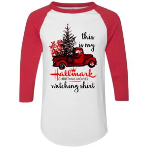 This is my Hallmark christmas movies watching shirt jersey
