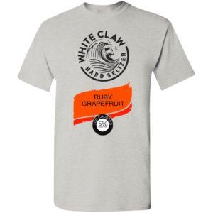 White claw Hard seltzer Ruby Grapefruit Halloween Costume T-Shirt