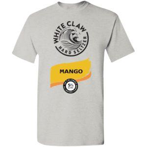 White claw Hard seltzer Mango Halloween Costume shirt