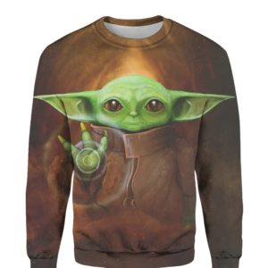 Baby Yoda 3D Print Sweatshirt